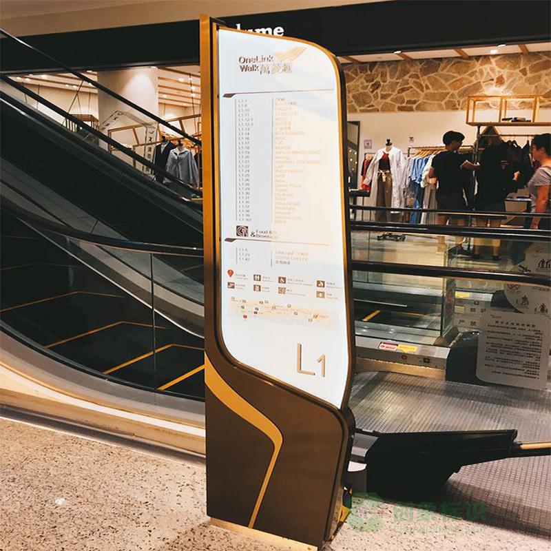 电梯导视牌